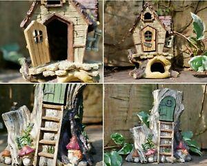Fairy House Tea Pot Home Garden LED Light Elf Pixie Magical Xmas Decor NEW 39211