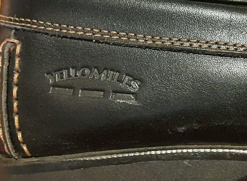 Scarpe casual da uomo MOCCASINS di yellomiles, diuomosioni 11 (46) in nero, buono stato, Scarpe da uomo