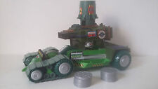 VÉHICULE TMNT TEENAGE MUTANT NINJA TURTLES - SEWER LID LAUNCHER - PLAYMATES 2004