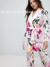 bbcf1457bd1b B by Ted Baker Satin Pyjama Bottoms Size 10 Citrus Bloom Pink for ...