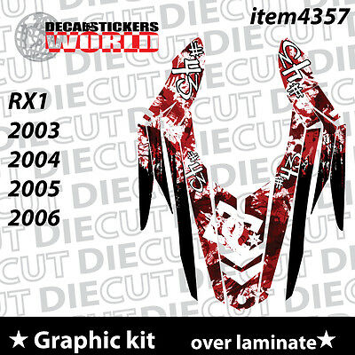 *NEW* SLED GRAPHIC KIT GRAPHICS WRAP FOR YAMAHA RX1 RX 1 ELP0010