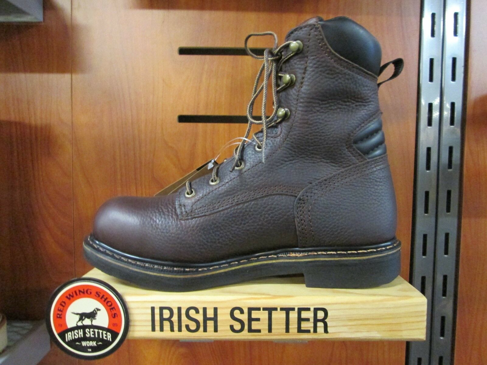 rojo Wing Irish Setter 8  Workbota - 83803 Farmington Soft Toe - 12 D