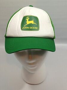 2ee5cece22a Image is loading Vintage-John-Deere-Foam-Front-Mesh-Snapback-Trucker-