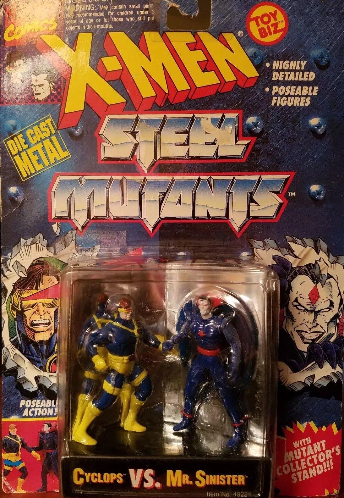 X-Men Steel Mutants die cast metal metal metal figures c80b7e