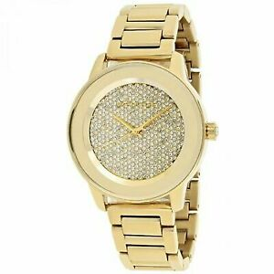 48bdd79cd264 Michael Kors Mk6209 Kinley Gold Pave Crystal Dial Ladies Watch for ...