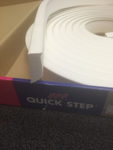 Quick-Step Paintable Flexible Skirting 14mm x 40mm x 7 metre Length.