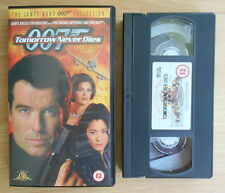 The James Bond 007 Collection (1999) - Tomorrow Never Dies - VHS - PAL - Mint