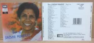 Details about India Bollywood Best Of Sandhya Mukherjee Bengali 1991 EMI  England CD FCS9114