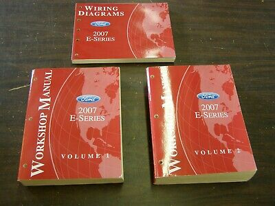 OEM Ford 2007 Econoline Van Shop Manuals Books Wiring ...