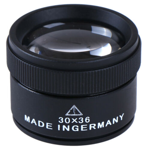 30x36mm Jewelery Optics Loupes Magnifyings Magnifiers Glass Lens Loop Microscope
