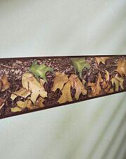 Mossy Oak Leaf Camo Wall Border Hunting Camouflage Cabin Peel & Stick Vinyl Art