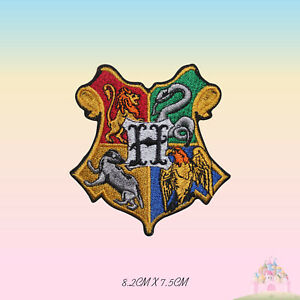 Harry Potter Hogwarts Embroidered Iron On Sew On Patch Badge For Clothes