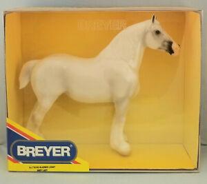 Breyer-Gladwin-Lucky-Grey-Lady-Clydesdale-Shire-Mare-Model-Horse-Breyerfest-NIB
