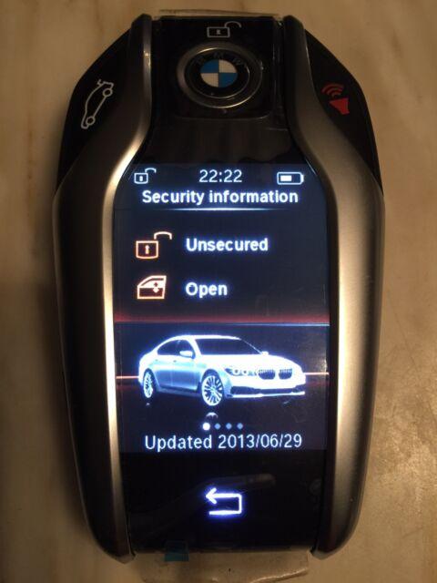 2016 BMW 7 & 5 Series Touch Screen Smart Keyless Remote Display Key Fob