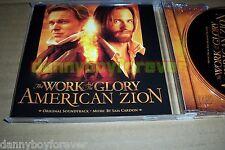 Work and the Glory American Zion NM CD Soundtrack Score Sam Cardon