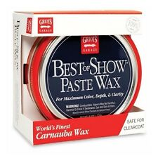 GRIOT'S Garage Best of Show Paste Wax Carnauba Wax & Foam Pad - 10871 Sealed New