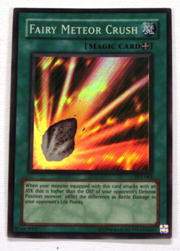 YuGiOh Fairy Meteor Crush PSV-063 Pharaoh/'s Servant NM Yu-Gi-Oh