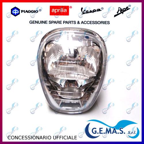 Fanale anteriore ORIGINALE proiettore faro Piaggio Beverly 300 350 2010 641577