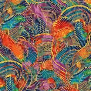 24-034-Remnant-Robert-Kaufman-Treasures-of-Alexandria-Egyptian-Theme-Cotton-Fabric