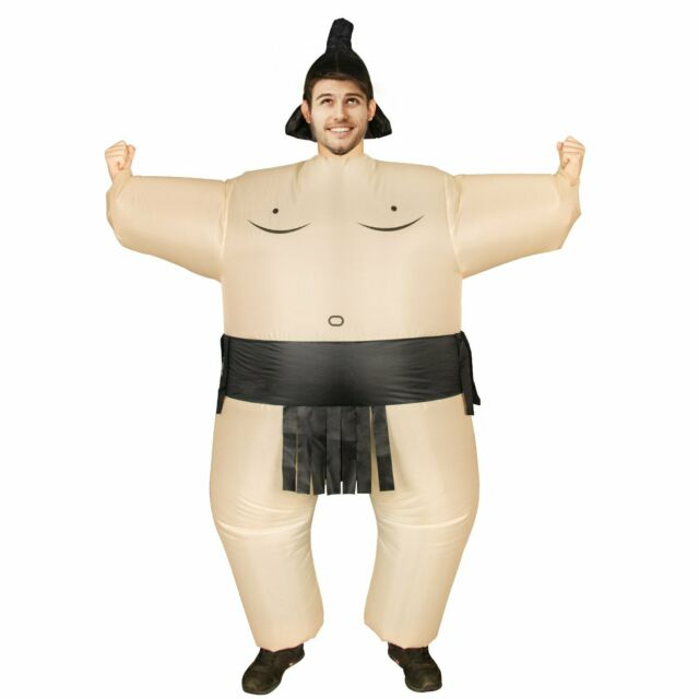 Adult Sumo Inflatable Sumo Costume for Adult Funny Halloween Costumes Cosplay Fantasy Costume