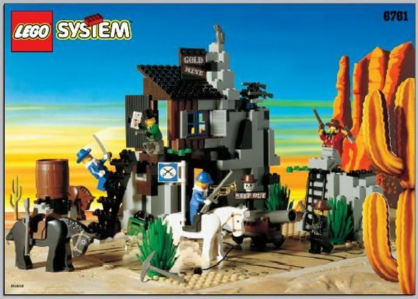 Lego 6761 - West  Cowboy  The Secret of the robled