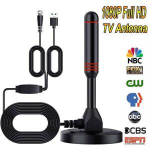 Upgraded TV Antenna Indoor HDTV Amplified Digital TV Antenna 1080P Long Range
