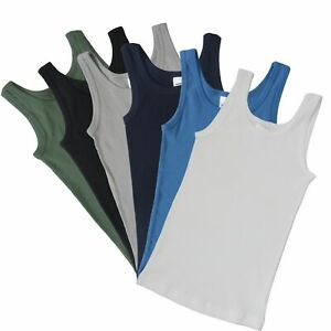 Weitere Farben HERMKO 2800 4er Pack Jungen Unterhemd Bio-Baumwolle