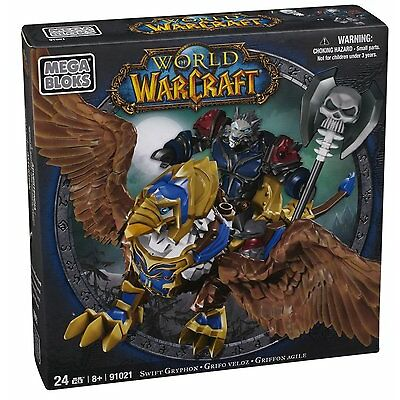 Mega Bloks 91021 Swift Gryphon & Graven Alliance Knight Ritter World of Warcraft