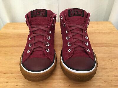 Star Mid Burgundy Black Gum Sneaker