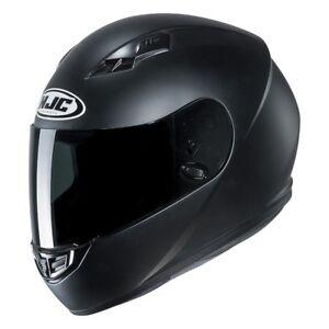 NEW-HJC-Helm-CS-15-Semi-schwarz-matt-Gr-M-57-58-Motorradhelm