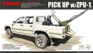 Meng-Model-1-35-VS-001-scale-Toyota-Hilux-Pick-Up-Truck-c-w-ZPU1-Anti-tank-Gun