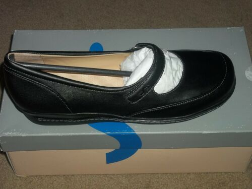 Soft Walk LAFON Black Mary Jane Leather Shoes 8.5 Women New