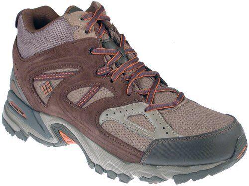 Columbia Wallawalla 2 mid omni-Tech señores calzado deportivo Al aire libre marrón talla 44 nuevo