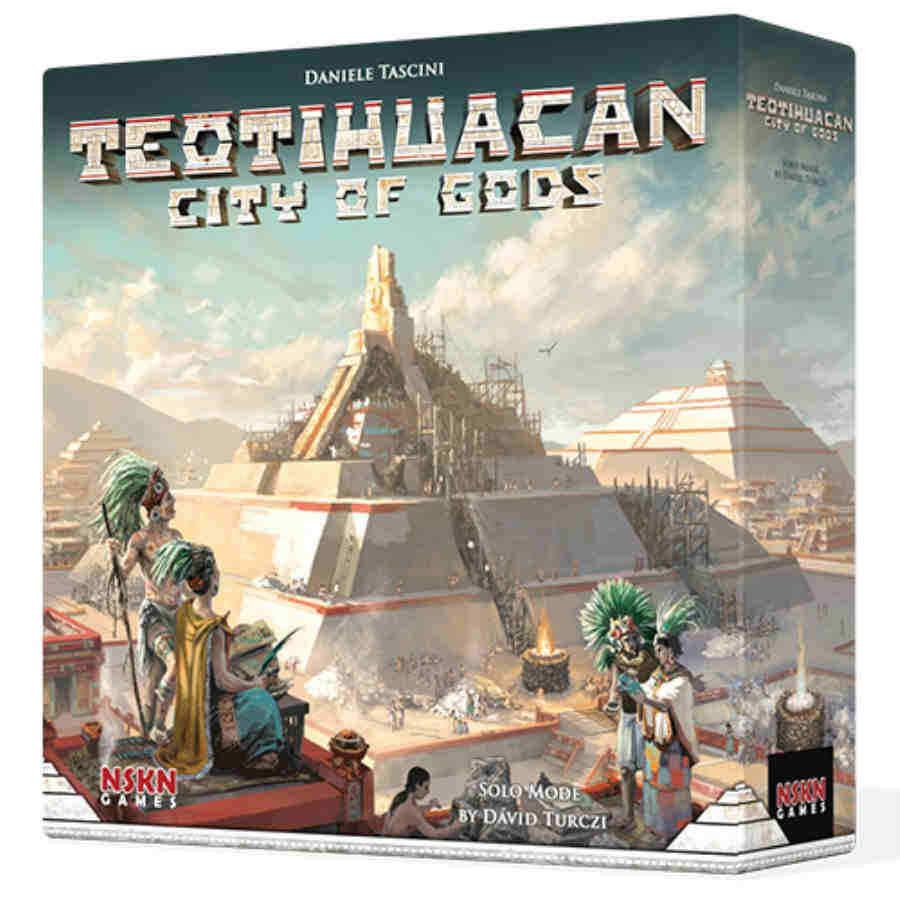 Teotihuacan  ciudad de los dioses Juego De Mesa-Nuevo Sellado Inglés