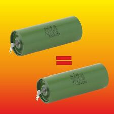 0.47uF 750V MATCHED RUSSIAN HYBRID PAPER IN OIL PIO AUDIO CAPACITOR K75-10