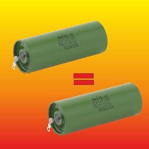 10pcs 0.47uF 500V K75-10 0,47 Big Hybrid PIO Audio Capacitors PAPER IN OIL PIO