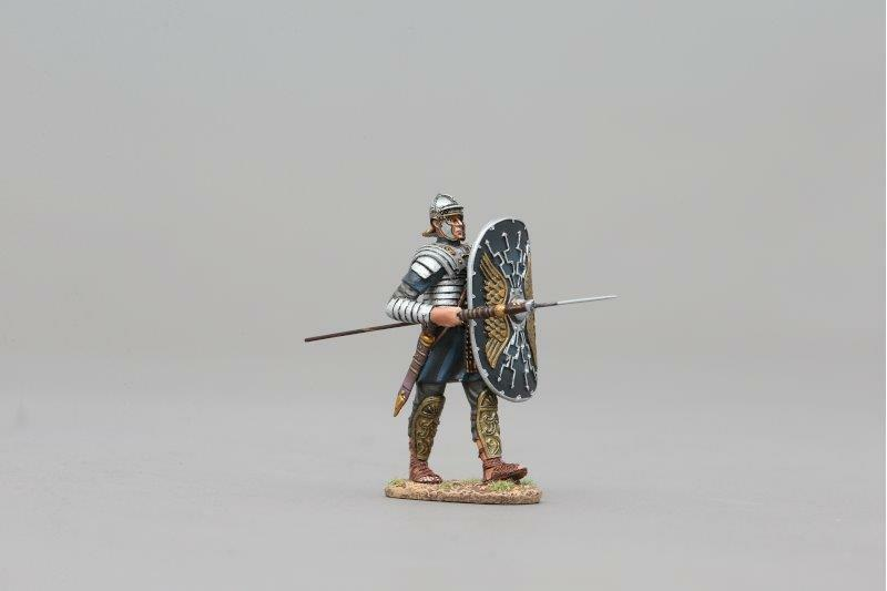 THOMAS GUNN ROM102B - Roman Praetorian (Lightning Bolt) Painted Metal Figure