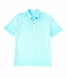 Tommy-Bahama-Men-s-SZ-XL-Cirrus-Coast-Polo-Shirt-Scandia-Blue-MSRP-100