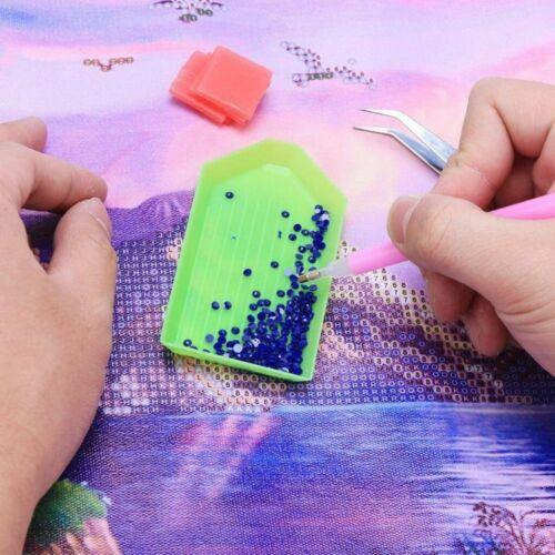 DIY 5D Diamond Mosaic Art Craft Old Couple Cross-Stitch Kit for Child