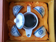 6 pc Chinese Tea Sets - Tea Pot & 4 Cups