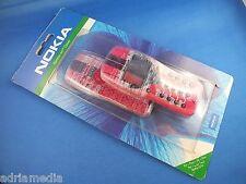 Original NOKIA 3210 Xpress-on Front Back COVER OBERSCHALE SKR-10 Design Rot NEU