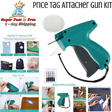Tagging Gun Kit For Clothes Labeler With 6 Needles Amp 1000pcs Barbs Fasteners New