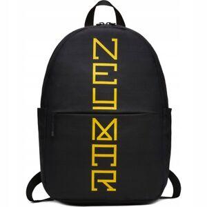 f192d80231 Image is loading Nike-NEYMAR-Black-Backpack-Rucksack-School -Training-Football-