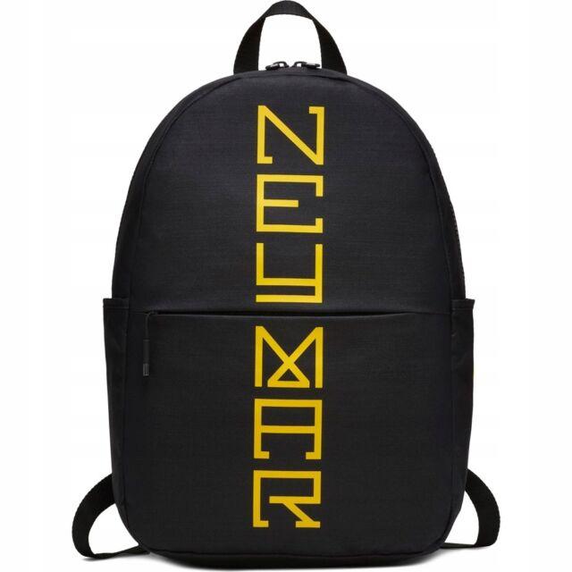 7cfa8c4c2e Nike NEYMAR Black Backpack Rucksack School Training Football Junior Boys  Kids