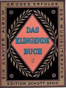 Das-klingende-Buch-Schott-ED-2400-Band-I