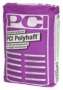PCI-polyhaft-25-kg-Couche-de-liaison-pour-Putz-et-mortier-sur-LISSE-substrats