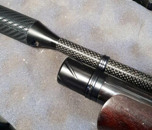 Carbone barillet Carénage Capot compatible avec un Air Arms S410 carabine