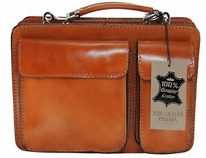 Made in Italy bag handbag man briefcase genuine leather workbag ... 52de6bae7aec2