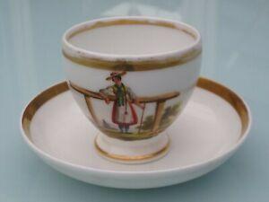 100% De Qualité Ancienne Tasse En Porcelaine Origine à Identifier