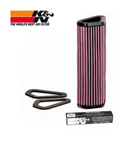 K /& N Air Filter DUCATI 848 1098 1198 1100 DIAVEL STREETFIGHTER K/&N DU1007